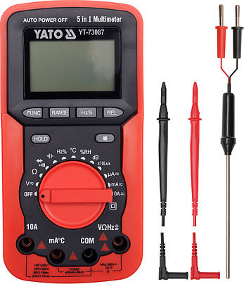 Цифровой мультиметр YATO YT-73087, фото 2