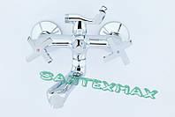 Смеситель латунный для ванны и душа Mixxus Premium Galaxy 142 Euro