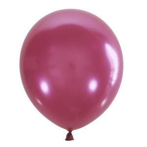 "Шар 5"" (12 см) Мексика металлик 027 PINK (розовый)"
