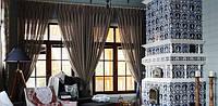 Эклектика в интерьере – выбираем ткань для штор