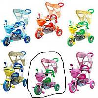Детский велосипед трехколесный B 3-9 / 6012P (Розовый)