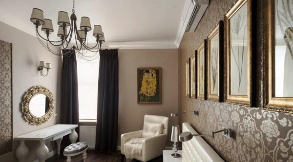 Купити тканину для штор в еклектичному стилі в Києві в інтернеті