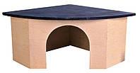 Trixie  TX-61222  дом угловой для морской свинки  29 × 13 × 21/21 см