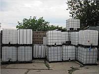 Уксусная кислота в кубовых контейнерах