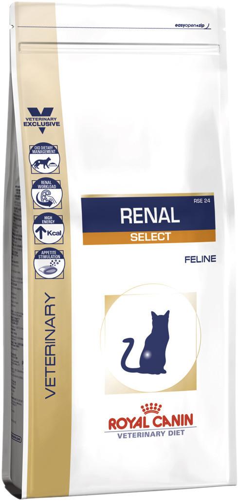 Royal Canin Renal Select Feline 4кг -диета при заболеваниях почек у кошек