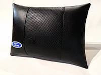 Подушка ортопедическая в автомобиль FORD черная