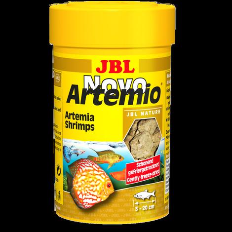 JBL NovoArtemio 250мл-дополнительный корм с артемией для аквариумных рыб