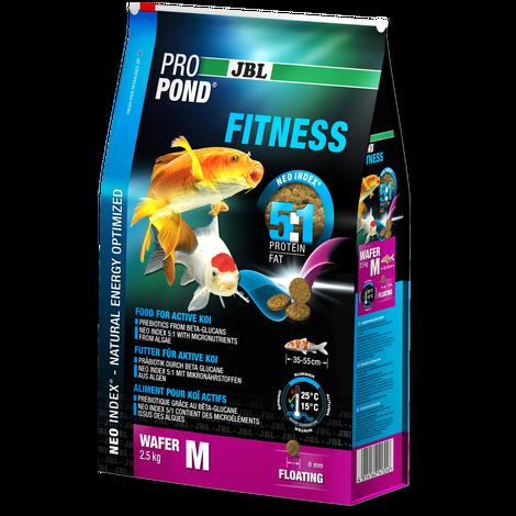JBL ProPond Fitness M 2,5 кг - Фитнес-корм для активных кои