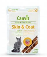 Canvit Skin&Coat 100г - полувлажное лакомство с лососем для кошек