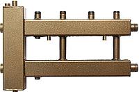 Распределительный коллектор СК 222.125 на 2 контура с гидроуравнивателем СК-26