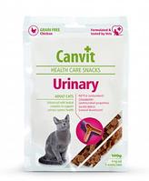 Canvit Urinary 100г - полувлажное лакомство с курицей для кошек