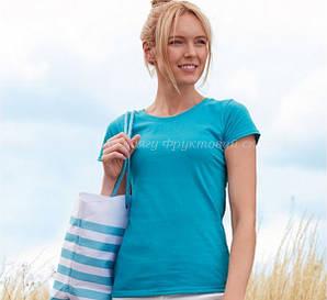Женская футболка лёгкая 100% хлопка