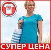 Женская футболка лёгкая 100% хлопка, фото 2