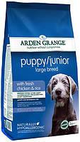 Arden Grange Puppy Junior Large Breed 12кг - корм для щенков и молодых собак крупных пород