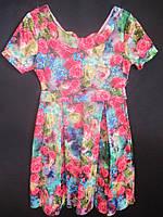Красивые яркие платья на лето для девочек.