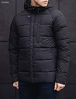 Мужской зимний пуховик Staff BLACK