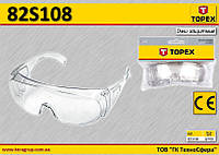 Очки защитные прозрачные,  TOPEX  82S108