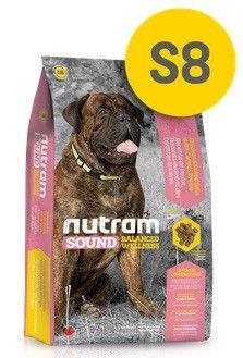 S8 Nutram Sound Large Breed Adult Dog 20кг-корм для собак крупных пород