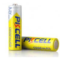 Аккумулятор PKCELL 1.2V AA 1300mAh NiMH Rechargeable Battery, 2 штуки в блистере цена за блистер