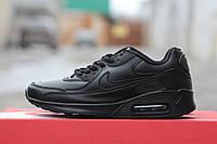 Подростковые кроссовки Nike air max черные, фото 1
