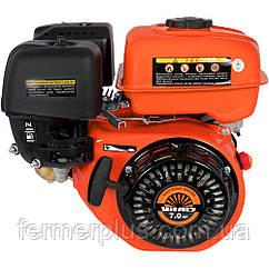 Двигатель бензиновый Vitals BM 7.0b   (7,0 л.с., ручной стартер, шпонка Ø19мм, L=56,5мм)