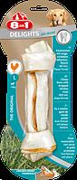 8in1 Delights Dental L (21см)  кость для чистки зубов у собак с вкусом мяса