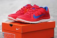 Женские кроссовки Nike Free Run 4.0 красные, фото 1