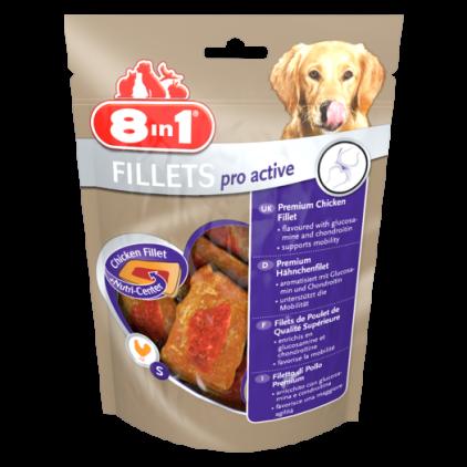Лакомство для собак 8в1 Филлетс Для улучшения активности   80 г (660982 /112389)