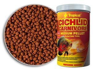 Tropical Cichlid Carnivore Medium Pellet  1л ( 360 г ) -  корм плотоядных цихлид  (60766)