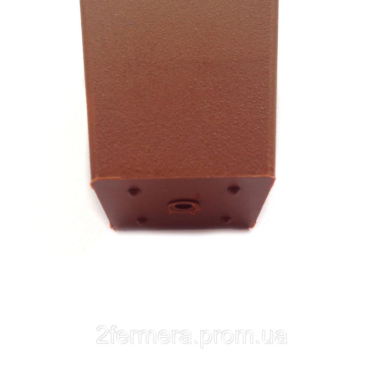 Горшок квадратный КВ 3 черный
