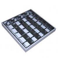 Растровые накладные светильники ЛПО-01-4х18 Venus Lux (с ЭПРА)