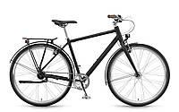"""Велосипед городской Winora Lane men 28"""" 7s Nexus  FW, рама 51см, 2018 черный цвет"""