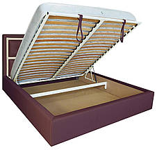 """Кровать Виндзор (с пуговицами) (комплектация """"Комфорт"""") с подъем.мех., фото 2"""