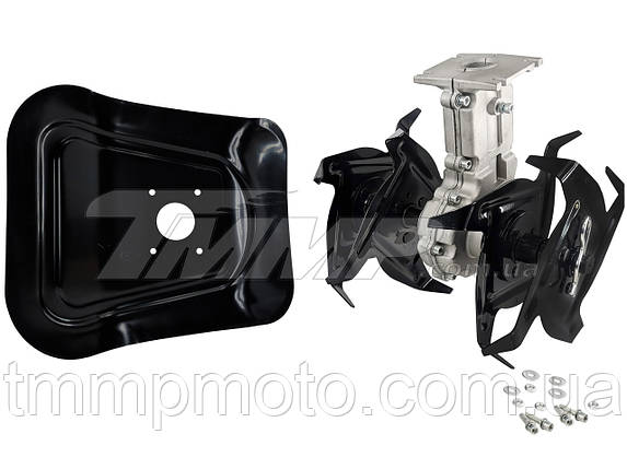 Насадка культиватор(фреза) для мотокосы  (28*7) на подшипниках, фото 2
