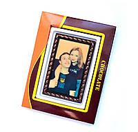 Оригинальная валентинка из шоколада. Открытка на 14 февраля., фото 1