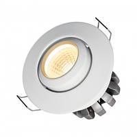 Поворотный круглый точечный LED светильник 38° SpectrumLED FIALE II  4W (белый)