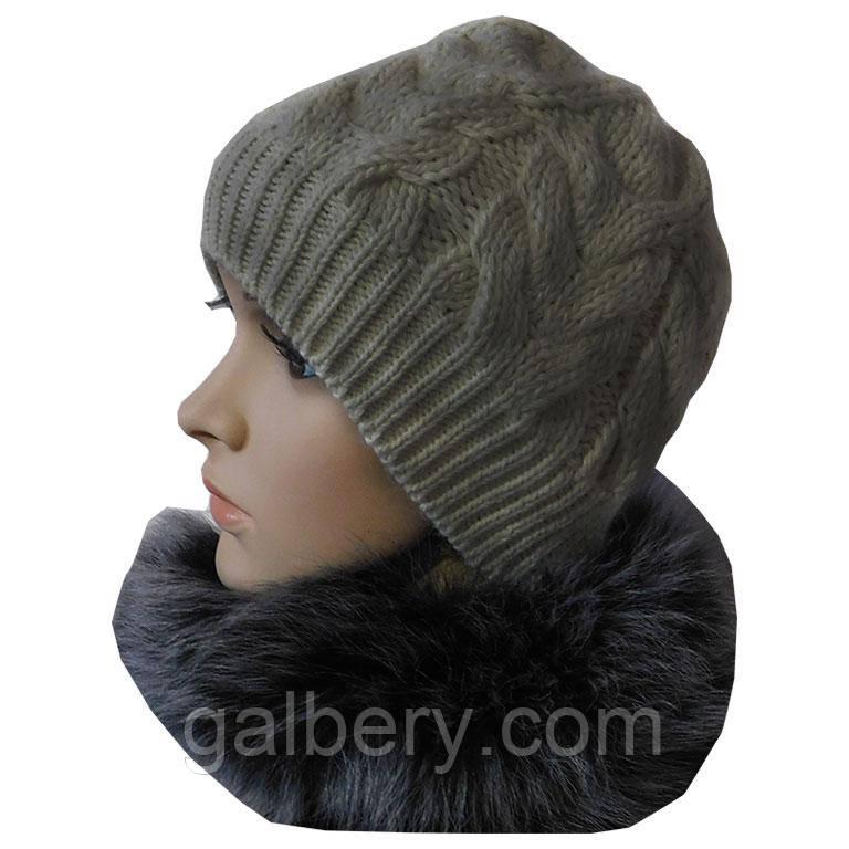 """Зимова шапка """"Коси"""""""