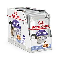 Royal Canin Sterilised паштет  85г*12шт- паучи для стерилизованных кошек старше 1 года