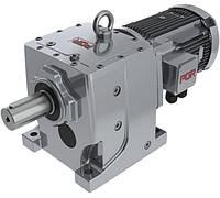 Цилиндрический соосный мотор-редуктор PA/PF