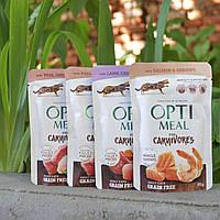 Optimeal (пауч) беззерновые консервы для кошек 85г*4шт, фото 1