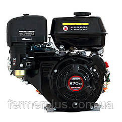 Двигатель бензиновый Loncin G270F   (9 л.с., ручной стартер, шпонка Ø25мм, L=58мм)