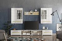 Комплект мебели для гостиной «Бьянко» Мир Мебели