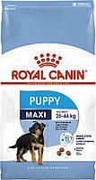Royal Canin Maxi Puppy 15кг + Ведро для корма, фото 1