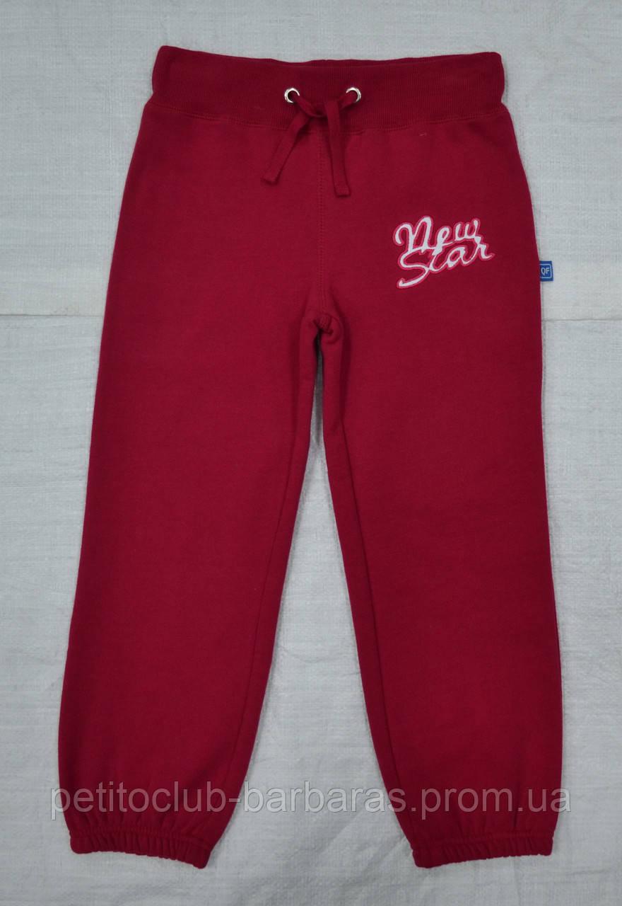 Спортивные штаны с начесом для девочки New star фуксия (QuadriFoglio, Польша)