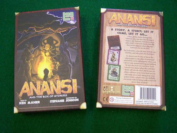 Настільна гра Anansi and the Box of Stories, фото 2