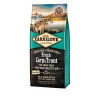 Carnilove Carp & Trout For Adult Dogs 1,5 кг - беззерновой корм для собак  с карпом и форелью