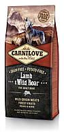 Carnilove Lamb & Wild Boar For Adult Dogs 1,5 кг - беззерновой корм для собак  с ягненком и диким кабаном