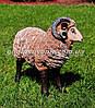 Садовая фигура Баран средний и Овца средняя, фото 4