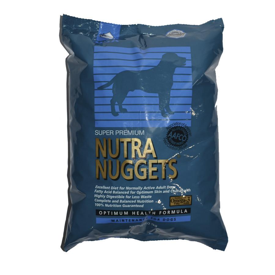 Nutra Nuggets Maintainance  синяя для собак 1кг