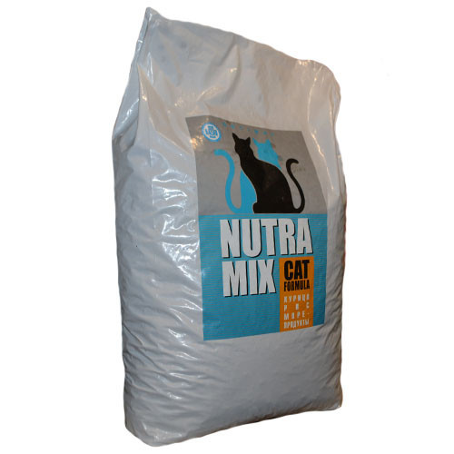 Nutra Mix Cat Optimal корм для кошек 9,07 кг (курица/рис/морепродукты)
